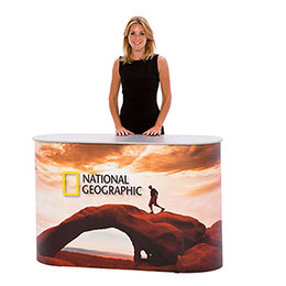 Magnetic Pop-up Counter, promotion counter or exhibition counter